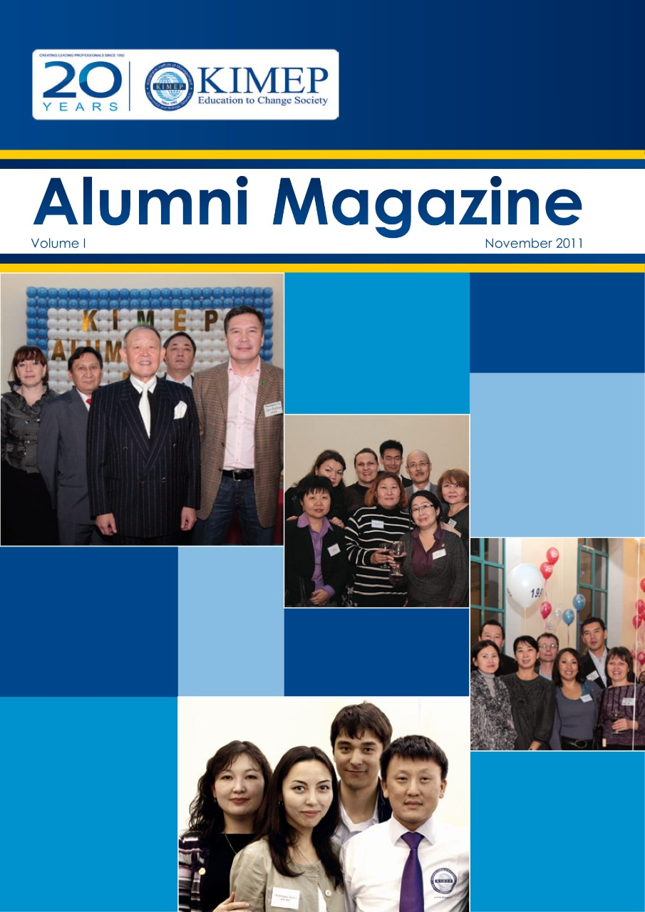#1 Alumni mag 2011-2012