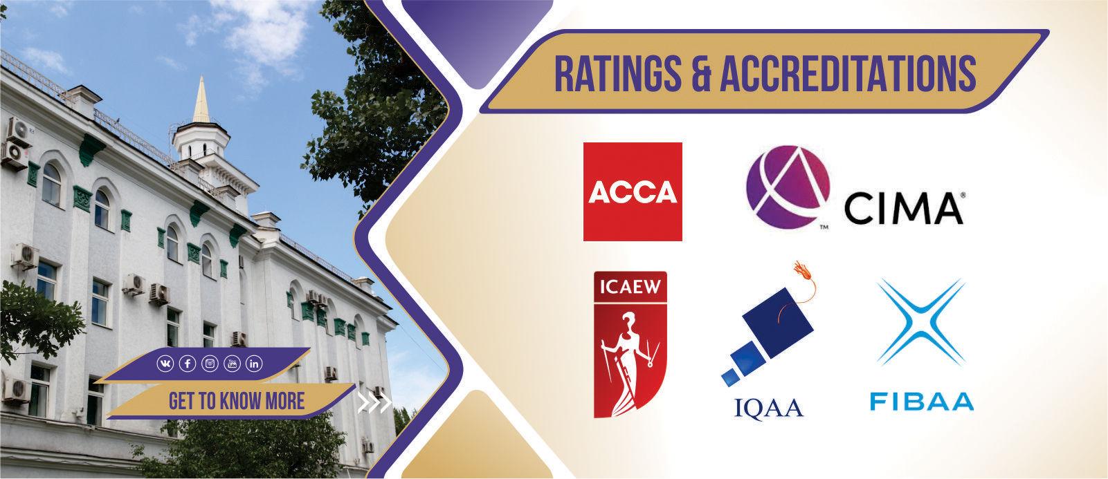 Slider Ratings & Accreditations