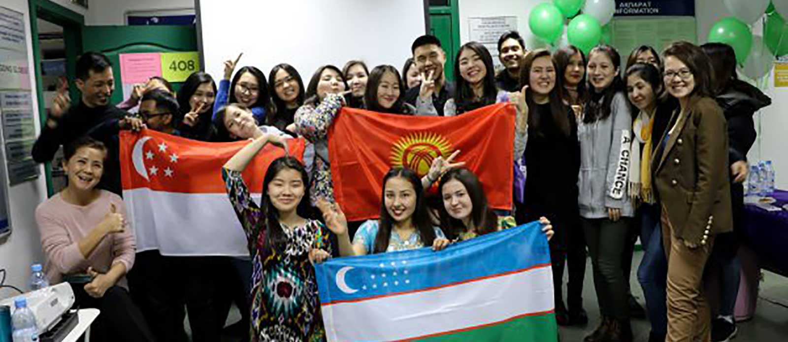Country Day: Kyrgyzstan, Singapore, Uzbekistan
