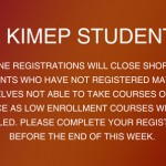 online registration for courses