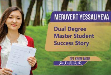 Dual Degree Interview - Meruyert Yessaliyeva